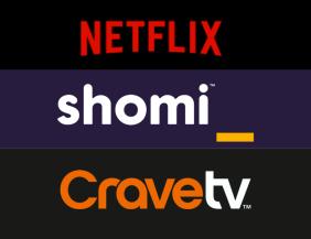 Shomi CraveTV Netflix