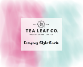 Tea Leaf Co Style Guide coverpage