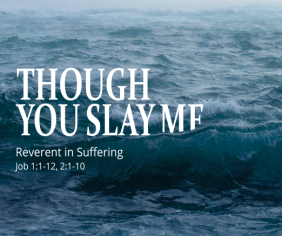 Though You Slay Me sermon series